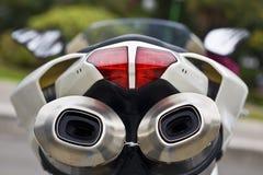 motorcykel Arkivfoto