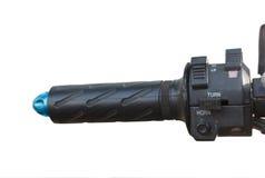 Motorcykel för elektronisk kontroll för strömbrytare Arkivfoto