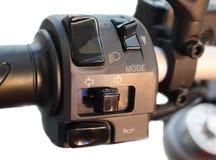 Motorcykel för kontrollfunktionsläge Royaltyfri Fotografi