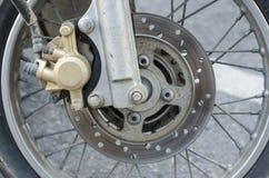 Motorcykel för skivabroms Royaltyfri Bild
