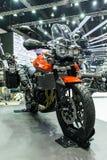 Motorcykel för Triumph tiger 800 XRT Arkivbilder