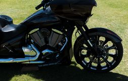 Motorcykel i kontur arkivfoton