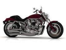Motorcykel med stålröret Arkivfoton