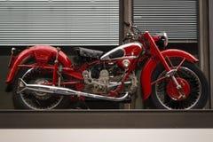 Motorcykel Moto Guzzi Airone Royaltyfri Foto