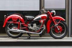 Motorcykel Moto Guzzi Airone Arkivbilder