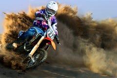 Motorcykel Racing Royaltyfri Foto