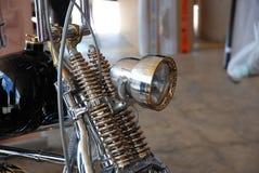 Motorcykelbensin tankade motorn Royaltyfri Bild