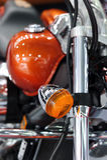 Motorcykelblinker Royaltyfri Bild