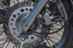 Motorcykelbromsdiskett Royaltyfria Bilder