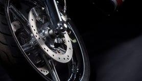 Motorcykelgummihjul Royaltyfria Foton