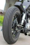 Motorcykelhjul Royaltyfri Fotografi