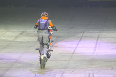 Motorcykeljipposhow Arkivfoton