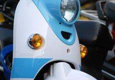 Motorcykelljus Arkivfoto