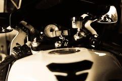 Motorcykelmått Royaltyfria Bilder