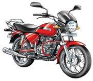 Motorcykelmedelmotor, för platsfotstöd för inre förbränning motocross för behållare för gas arkivfoton