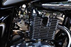 Motorcykelmotor royaltyfri fotografi