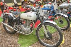 Motorcykelmuseum i Andora fotografering för bildbyråer