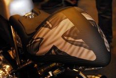Motorcykeln bor Arkivbilder