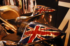 Motorcykeln bor royaltyfria foton