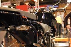 Motorcykeln bor Royaltyfri Fotografi