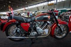 Motorcykelpantermodellen 120, 1960 Fotografering för Bildbyråer