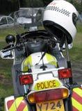 motorcykelpolis Royaltyfri Foto