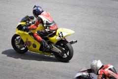 motorcykelrace Royaltyfria Bilder