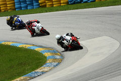 motorcykelrace Royaltyfri Fotografi