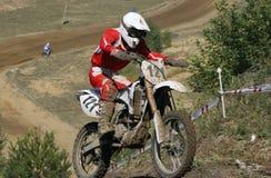 motorcykelraces Arkivfoto