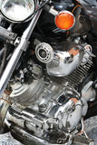 motorcykelreflexionssportar Royaltyfria Bilder