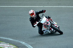 Motorcykelridningperiod på WallraV loppmitt Royaltyfri Foto