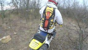 Motorcykelritter arkivfilmer