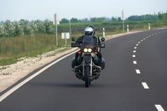 motorcykelryttare Arkivbilder