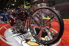 motorcykelshow royaltyfria bilder
