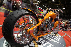 motorcykelshow Royaltyfri Bild