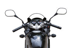 Motorcykelsikt från plats Arkivbilder