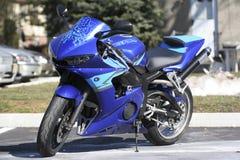 motorcykelsport Royaltyfria Bilder