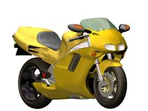 motorcykelsport Royaltyfri Fotografi