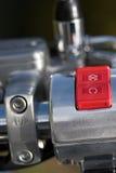 motorcykelströmbrytare Royaltyfria Bilder