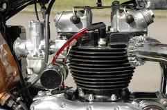 motorcykeltappning Royaltyfria Foton