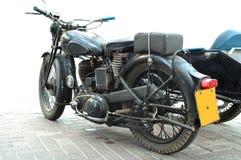 motorcykeltappning royaltyfria bilder