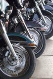 motorcyklar Arkivfoto