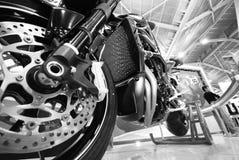 Motorcyle Bildschirmanzeige Stockfoto