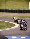 motorcylerace royaltyfri foto