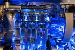 Motordel för hybrid- bil arkivbild