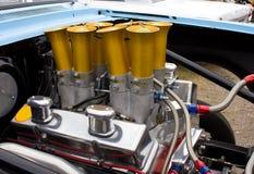 Motore 350 di Chevy Chevrolet dell'annata Fotografia Stock Libera da Diritti