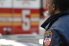 Motore 5 del corpo dei vigili del fuoco Fotografia Stock Libera da Diritti