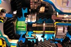 Motore all'interno della vista Fotografia Stock