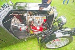 Motore a benzina d'annata di MG Immagini Stock