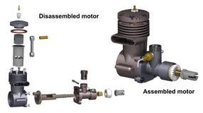 Motore a combustione interna Immagini Stock